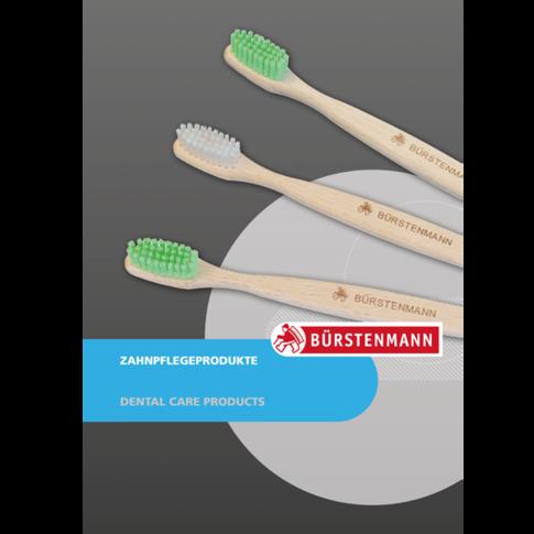Bürstenmann GmbH: Katalog: Zahnpflegeprodukte